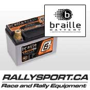 Braille Lightweight Racing Batteries